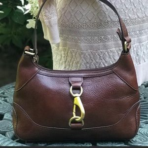 Beautiful Wilsons Smooth Brown Leather Bag 🌸